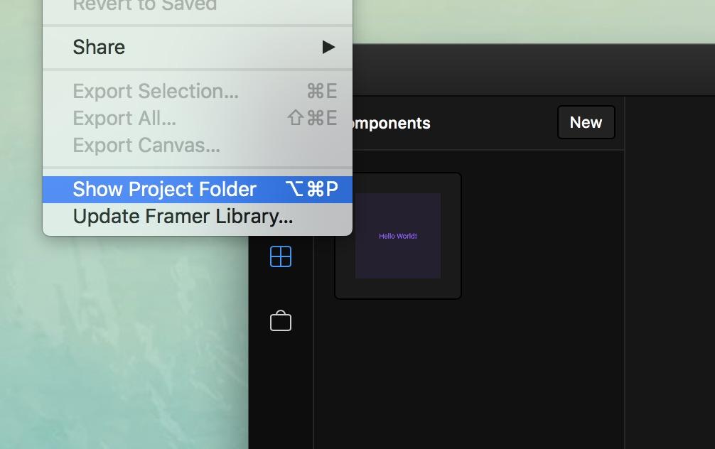Framer help